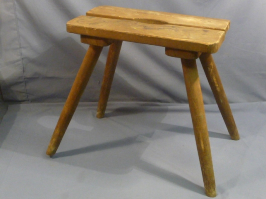 German barracks stool