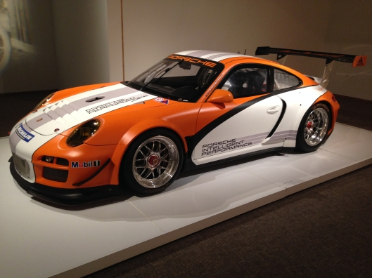 911 GT3 R Hybrid Race Car Prototype . Mileage still isn't all that great.