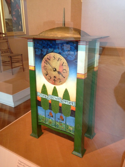 Voysey Mantle Clock - Click to see full Flickr set.