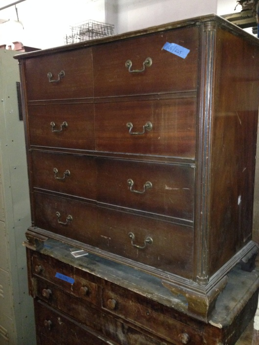 Looks like a chest of drawers or dresser.