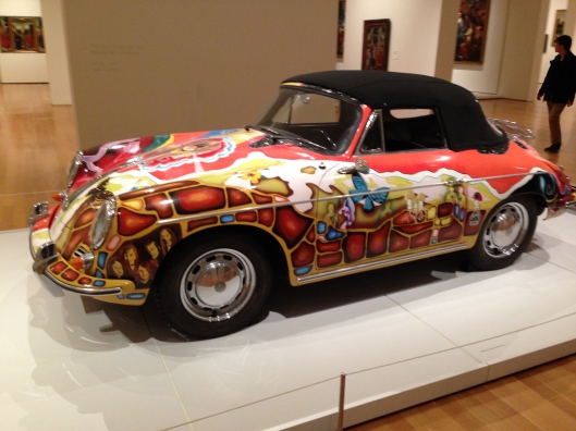 Janis Joplin's Cabriolet. Not your typical Earl Scheib paint job.