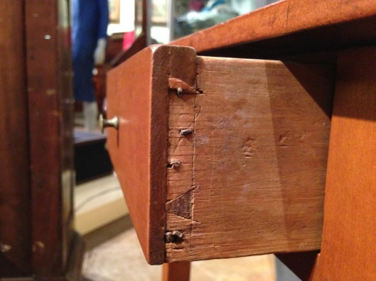 Behold the dovetail.