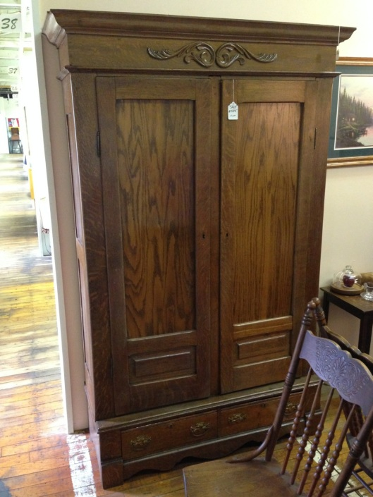 Nice armoire, some might say notable.