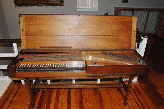 Late 18th century clavichord I don't remember the makers.