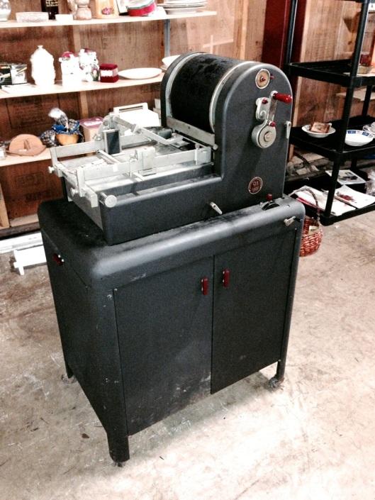 Their new, short run printer.