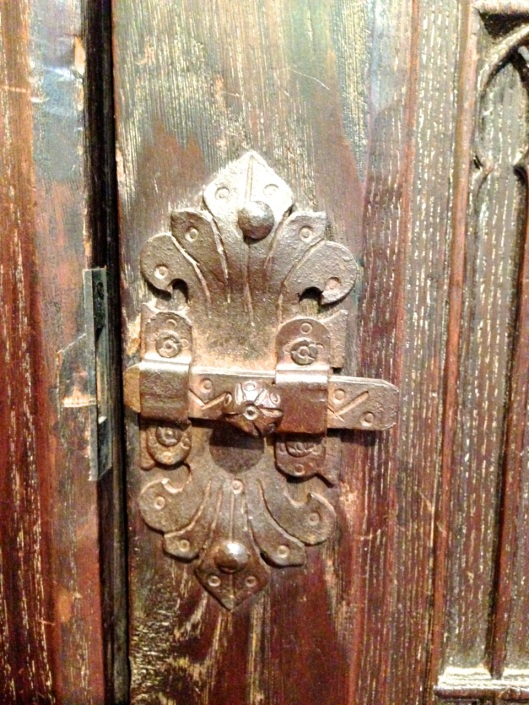 Not your typical latch.