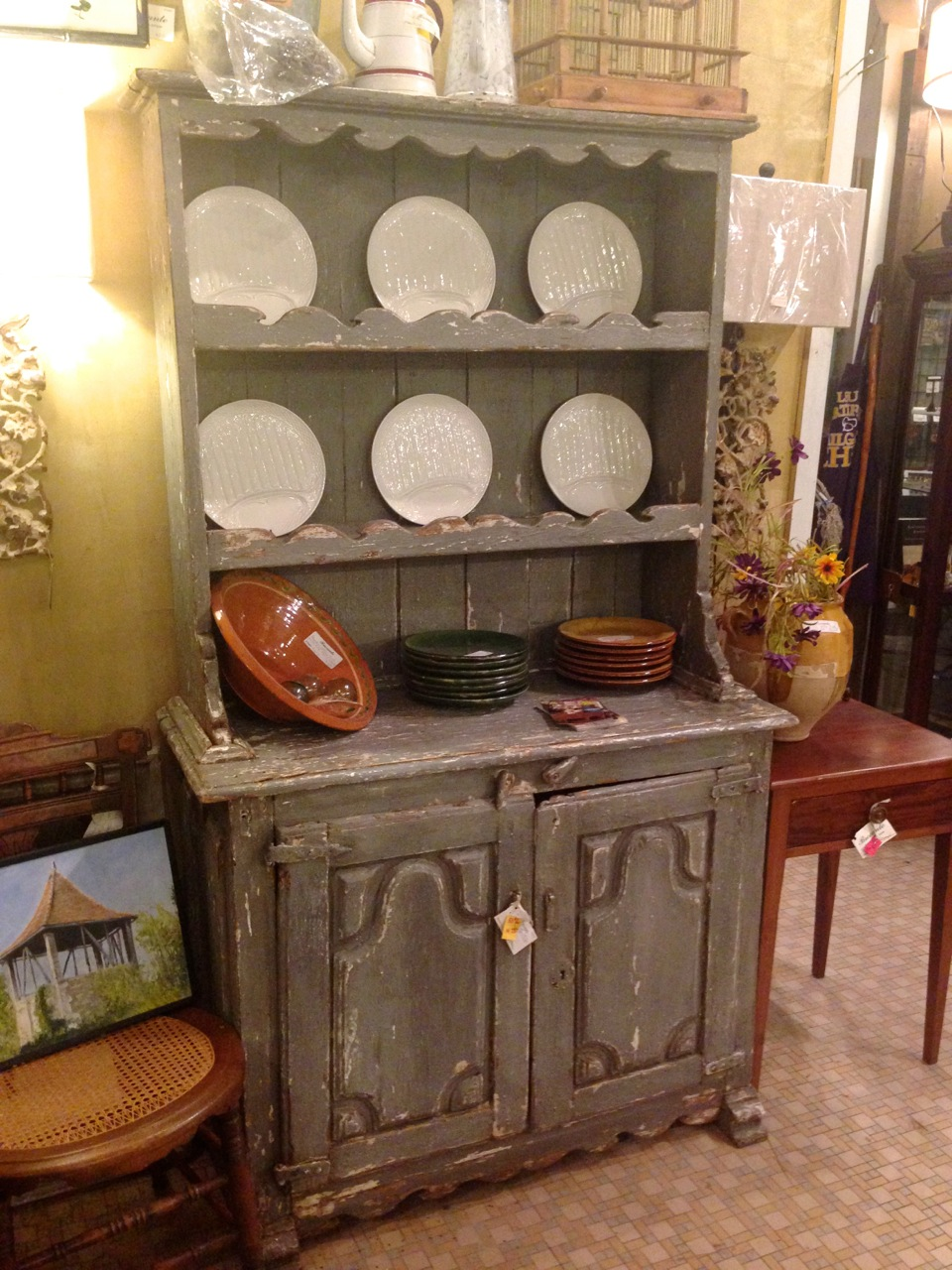 Antique cupboard. - A Small Taste Of Baton Rouge The Furniture Record