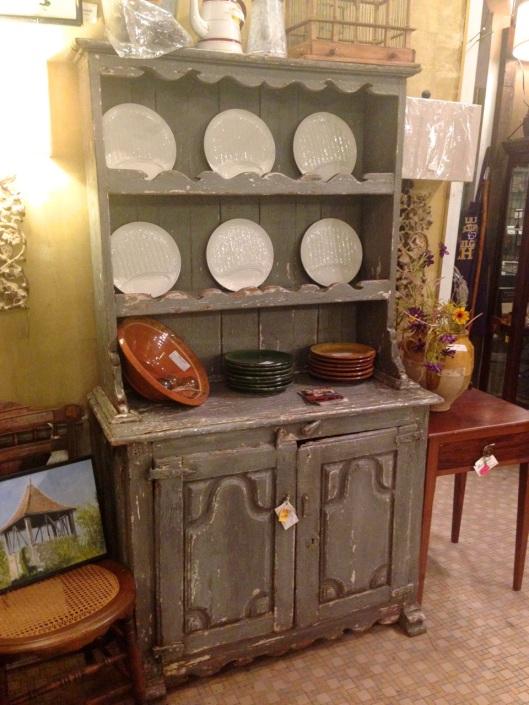 Antique cupboard.