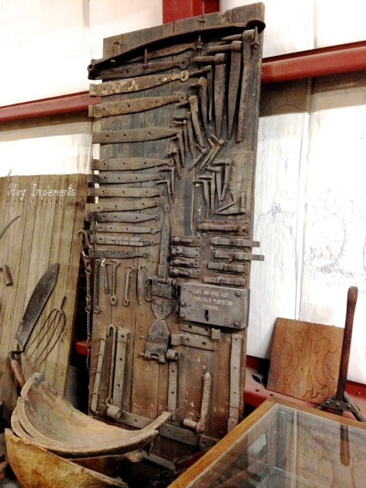 Display of manufacture items.