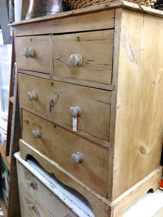 Two over two chest of drawers.