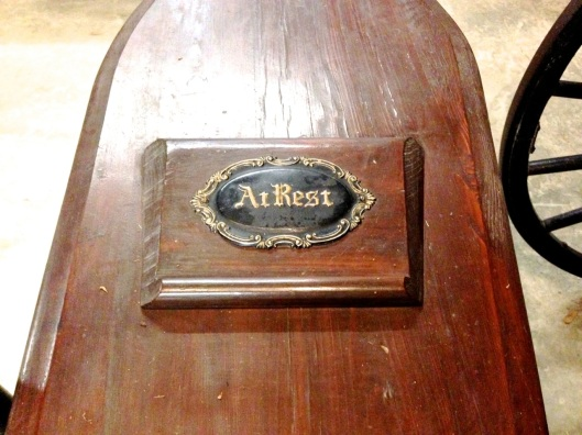 """At Rest"" Looks like a piece of molding painted."