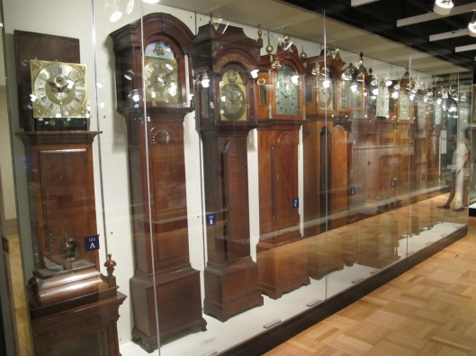 These are just some of the case clocks.