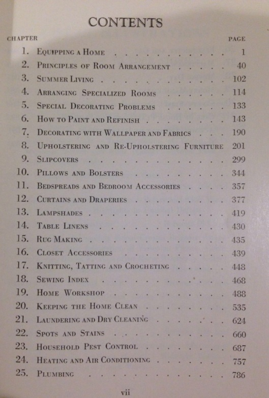 "Right between the ""Sewing Index"" and ""Keeping the Home Clean."" Click to see the last 6 chapters."