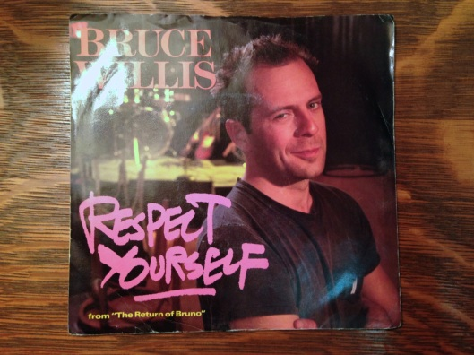 A Bruce Willis 45 RPM single. How many lost cultural references are there in that phrase?