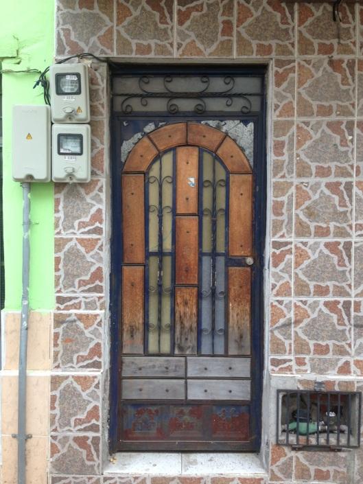 Not a church door.