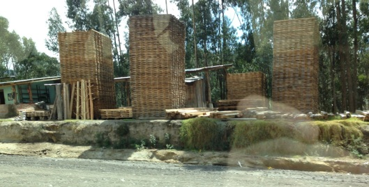 And here are the lumber stacks. Just like Plate 4.