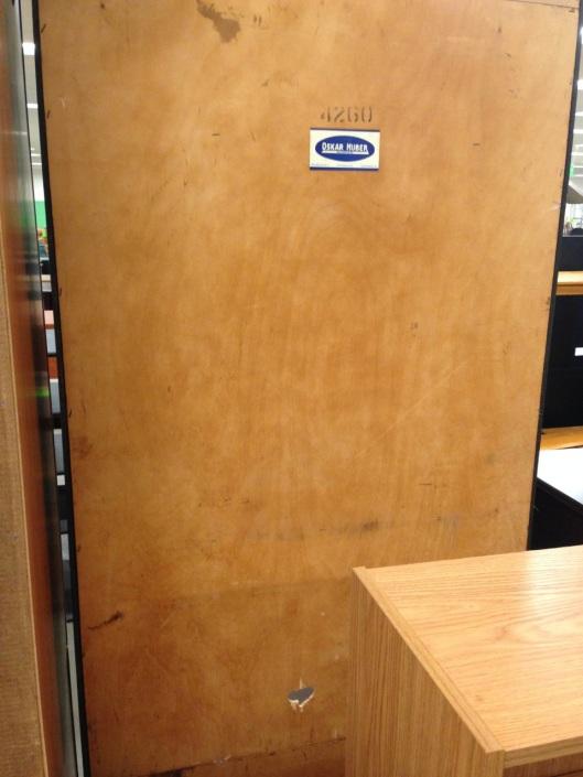 Really nice plywood.