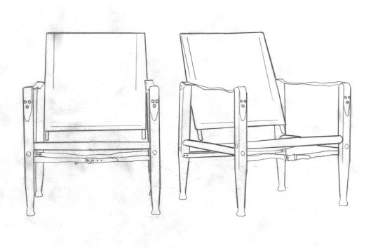 Chris draws good. Click to see one of Chris's blogs about the chairs.