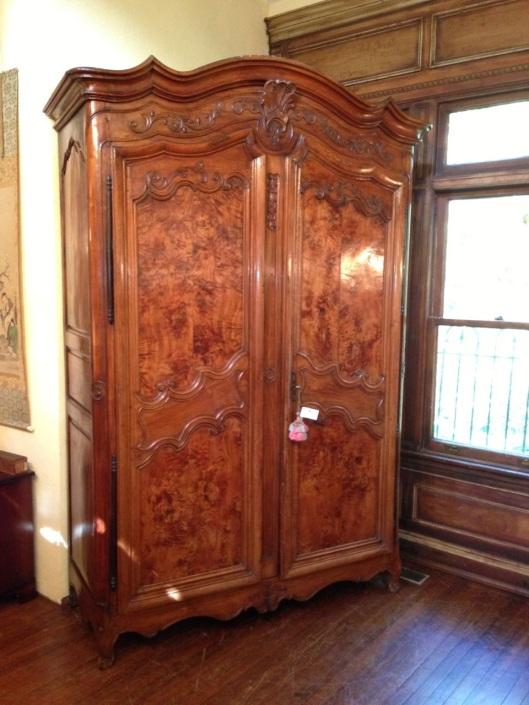 Tall armoire.