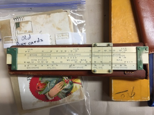 """A 6"""" Keuffel & Esser slide rule form the early 20th century."""