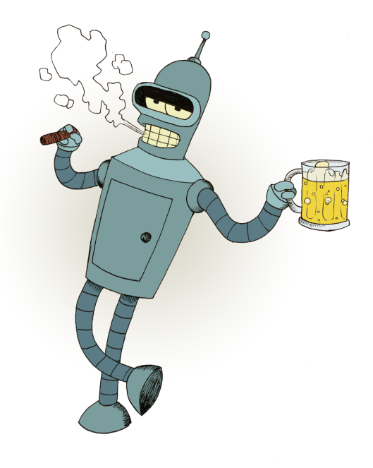 Not this Bender.