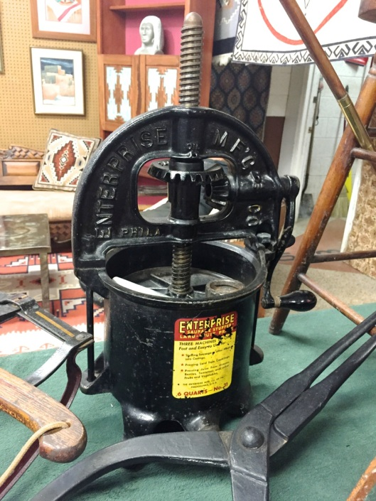 The Enterprise Sausage-Stuffer - Lard - Fruit Press.