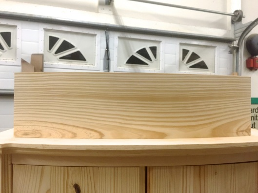 In that a southern yellow pine drawer can ever turn out well.