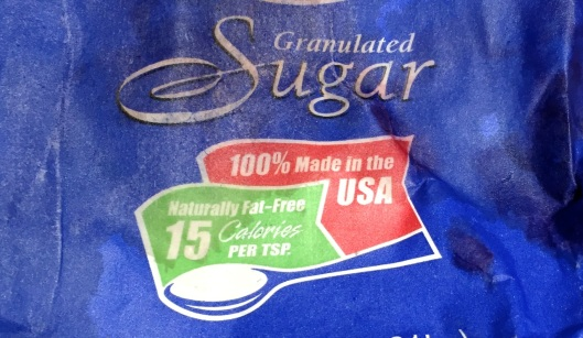 Freedom sugar. Fat free AND gluten free. Pretty healthy if you ignore the sugar part.
