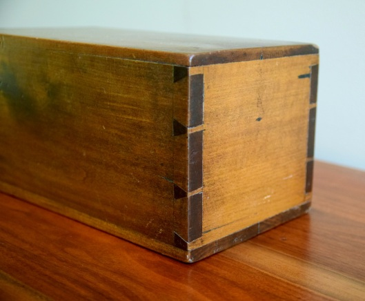 Nice dovetails.