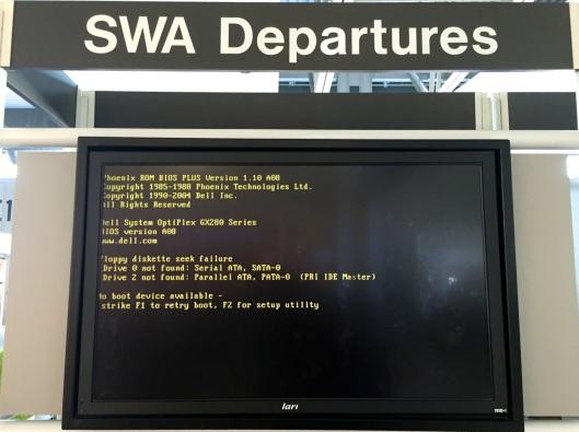 Monday. 6:24 PM CDT at Lambert–St. Louis International Airport