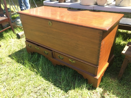 A mule chest.