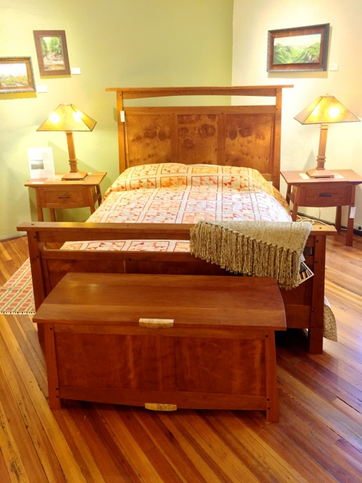 A bedroom set from Grovewood.