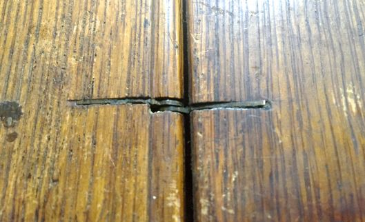 Another view of the hinge.