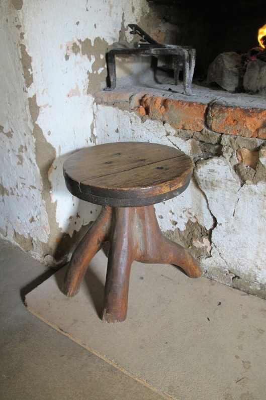 A different three legged stool.