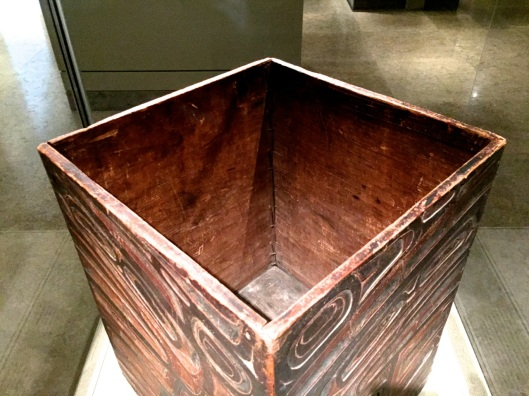 A decorated box from the Northwest.