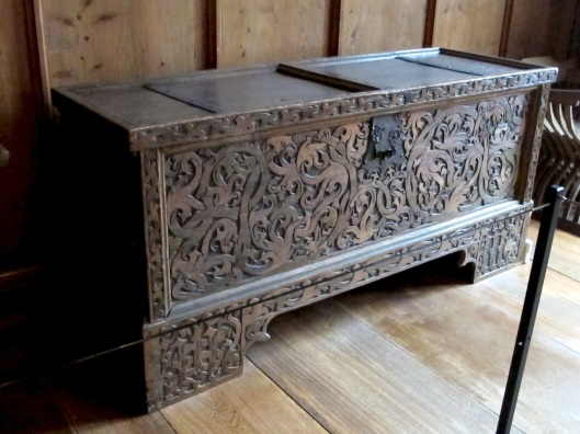 Just your ordinary, everyday carved chest.