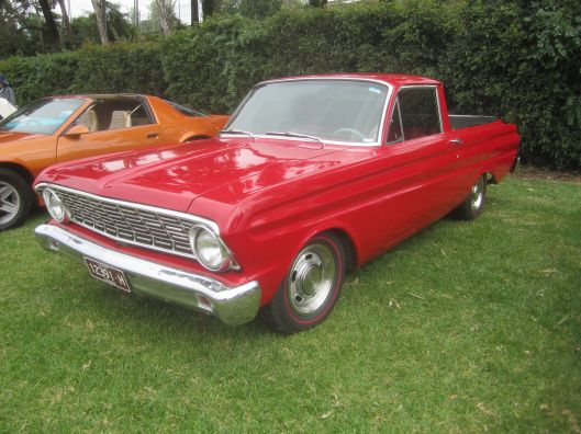 """1964 Ford Ranchero Pickup"" by Sicnag - 1964 Ford Ranchero Pickup. Licensed under CC BY 2.0 via Commons - https://commons.wikimedia.org/wiki/File:1964_Ford_Ranchero_Pickup.jpg#/media/File:1964_Ford_Ranchero_Pickup.jpg"
