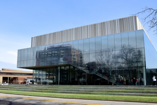 New North Building of the Speed Art Museum.