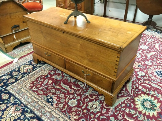 And this classically handsome mule chest