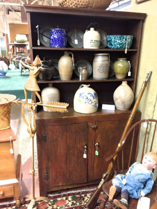 19th Century Piedmont, NC Country Cupboard